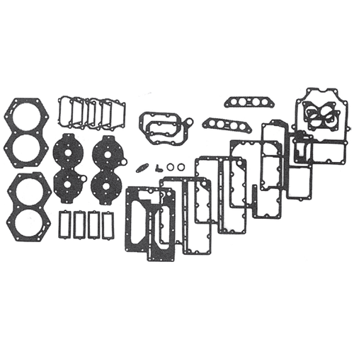 New Red Rhino Johnson/Evinrude 4 CYL 88-140 HP Powerhead Gasket Set [1978-1998] [Replaces OEM 439085]