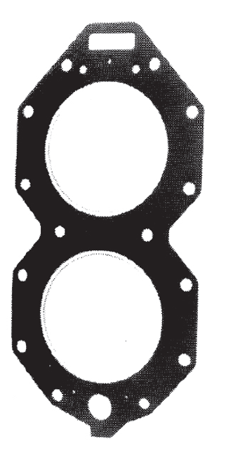 New Red Rhino Johnson/Evinrude 4-CYL 120-140 HP Small Bore Head Gasket [1985-1987] [Replaces OEM 328623]