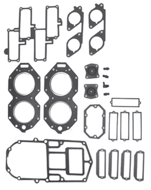 New Red Rhino Johnson/Evinrude 4 CYL 120-140 HP Small Bore Powerhead Gasket Set [1985-1987] [Replaces OEM 396750]