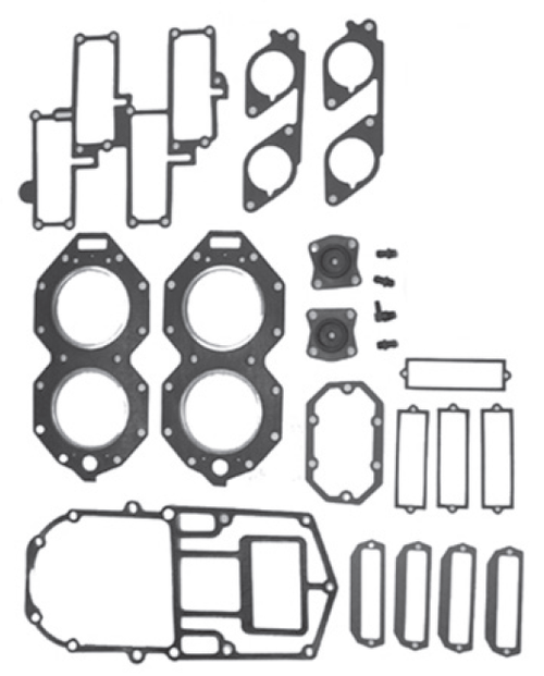 New Red Rhino Johnson/Evinrude 4 CYL 120-140 HP Big Bore Powerhead Gasket Set [1988-2001] [Replaces OEM# 432570]