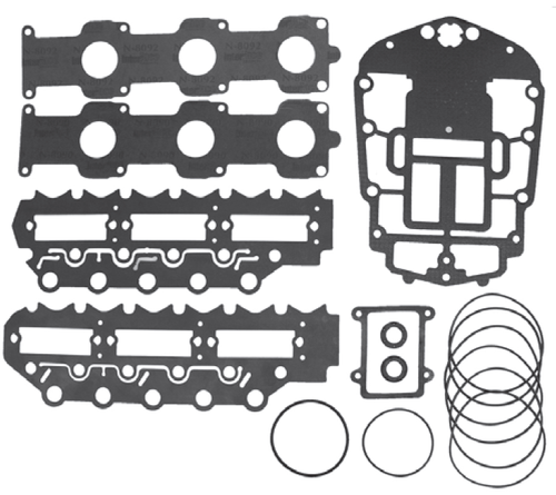 New Red Rhino Johnson/Evinrude 6 CYL 150-175 HP 60° Ficht Powerhead Gasket Set [Replaces OEM# 439202]