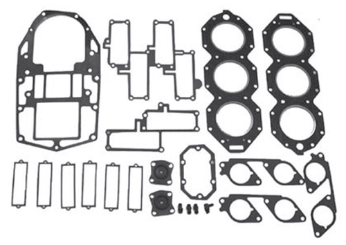 New Red Rhino Johnson/Evinrude 6 CYL 200-250 HP Small Bore Powerhead Gasket Kit [1986-1987] [Replaces OEM 398172]
