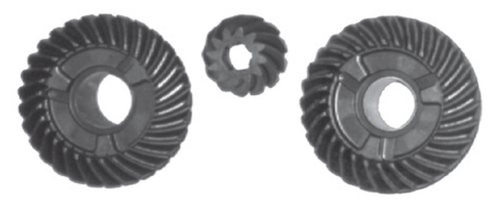 New Red Rhino Johnson/Evinrude 40-60 HP 2-CYL ETec Complete Gear Set [Replaces OEM 318353, 398522]