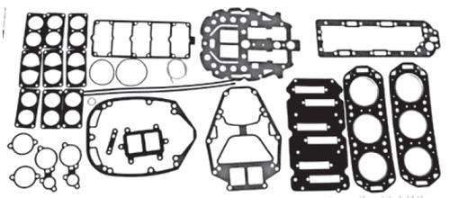 New Red Rhino Mercury/Mariner V6 2.0L 135/150 HP Powerhead Gasket Kit [1992-2001] [Replaces OEM# 27-815791A92]