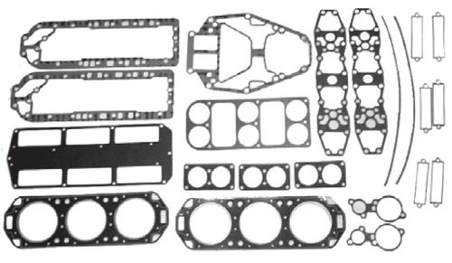 New Red Rhino Mercury/Mariner V6 2.4L 150XR4/175 HP Powerhead Gasket Kit [1985-1990] [Replaces OEM# 27-11338A88]