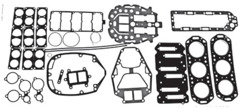 New Red Rhino Mercury/Mariner V6 2.5L 150-200 HP Carb/EFI Powerhead Gasket Kit [1992-1999] [Replaces OEM# 27-815791A92]