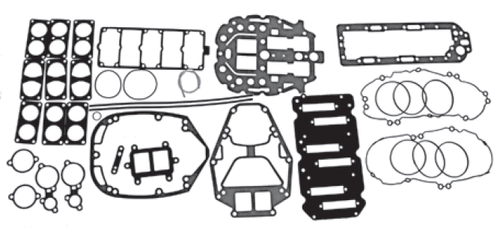 New Red Rhino Mercury/Mariner V6 2.5L 150-200 HP Carb/EFI Powerhead Gasket Kit [2000 & Up] [Replaces OEM# 27-815791A00]