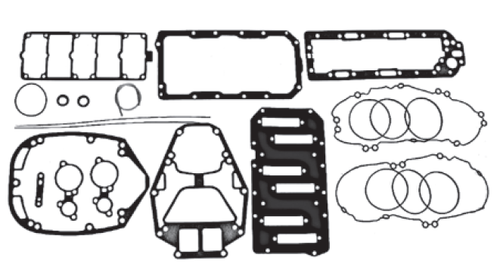 New Red Rhino Mercury/Mariner V6 2.5L 135/150 HP DFI Powerhead Gasket Kit [2000 & Up] [Replaces OEM# 27-814754A00]
