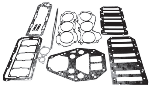 New Red Rhino Mercury/Mariner V6 2.5L 240 HP Sport Jet Powerhead O-Ring Head Gasket Kit [2000 & Up] [Replaces OEM#s 27-885214A1]