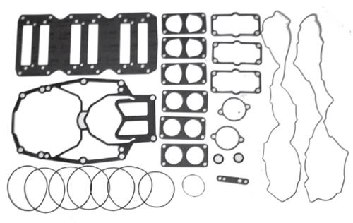 New Red Rhino Mercury/Mariner V6 3.0L 225/250 HP Carb/EFI Powerhead Gasket Kit [1994-2001] [Replaces OEM#s 27-814195A93]