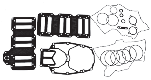 New Red Rhino Mercury/Mariner V6 3.0L 200-250 HP DFI Powerhead Gasket Kit [1997 only] [Replaces OEM# 27-814195A97]