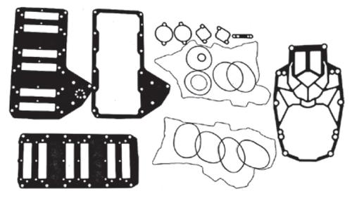 New Red Rhino Mercury/Mariner V6 3.0L 200-250 HP DFI Powerhead Gasket Kit [1998-1999] [Replaces OEM# 27-832934A98]