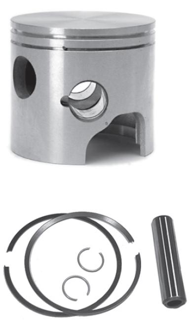 New Red Rhino Cast Piston for Mercury/Mariner V6 2.0L 135/150 HP Powerheads [1992-2001]