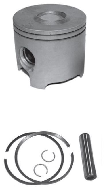 New Red Rhino Cast Piston for Mercury/Mariner V6 3.0L 200/225/250 HP DFI Powerheads [2003 & up]