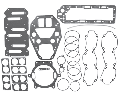 New Red Rhino Mercury/Mariner 210 HP Sport Jet Powerhead Gasket Kit [Replaces OEM# 27-804985A1]