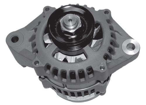 New Aftermarket Mercury/Mariner 3.0L Optimax Alternator (Round Plug) [Replaces OEM# 828506]