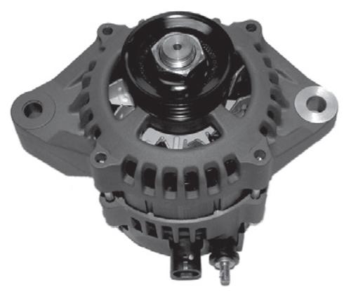 New Aftermarket Mercury/Mariner 3.0L Optimax Alternator (Oval Plug) [Replaces OEM#s 875286A1, 881247A1]