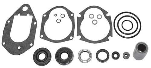 New Red Rhino Mercury/Mariner 3 Cylinder 60 HP Small Foot Gearcase Seal Kit [1991-2006] [Replaces OEM# 26-814669A2]