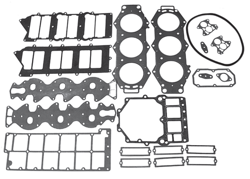 New Red Rhino Yamaha V6 2.6L HPDI Powerhead Gasket Kit [2000 & up] [Replaces OEM# 68F-W0001-01]