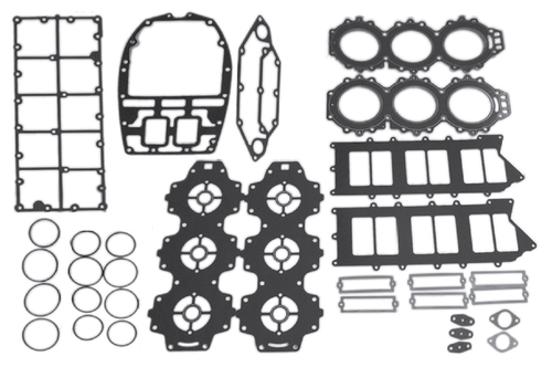 New Red Rhino Yamaha V6 3.1L 200/225/250 HP Powerhead Gasket Kit [1990-1996] [Replaces OEM# 61A-W0001-A1-00]