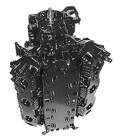 Remanufactured Mercury/Mariner 150 HP V6 2.5L Carb/EFI/XR6 Powerhead, 1992-2008