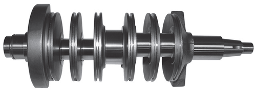 New Red Rhino Yamaha V4 Large Taper Crankshaft [1990-2004] [Replaces OEM# 6N7-11411-00]
