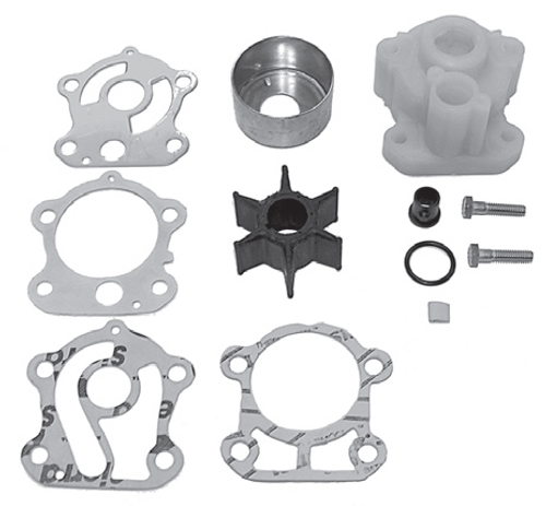 New Red Rhino Yamaha 85/90 HP 3 Cylinder Water Pump Kit [1985-2008] [Replaces OEM# 692-W0078-01-00]
