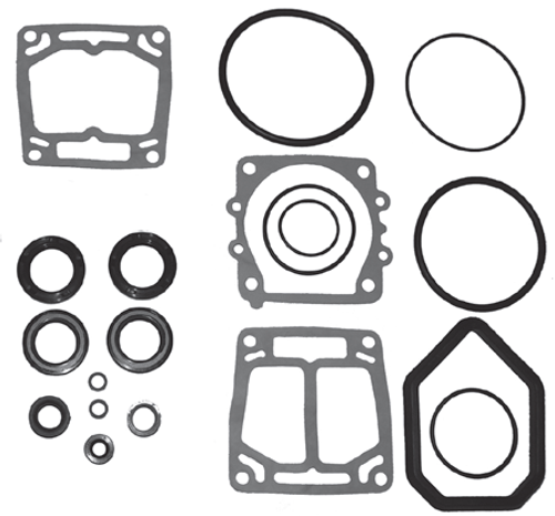 New Red Rhino Yamaha 4/6 Cylinder Lower Unit Seal Kit [Replaces OEM#s 6E5-W0001-51-00, 6E5-W0001-F1-00]