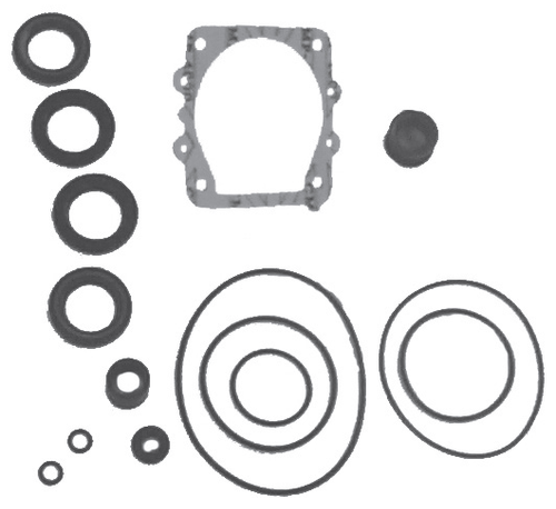 New Red Rhino Yamaha 6 Cylinder Single Water Pickup Lower Unit Seal Kit [Replaces OEM# 61A-W0001-21-00]