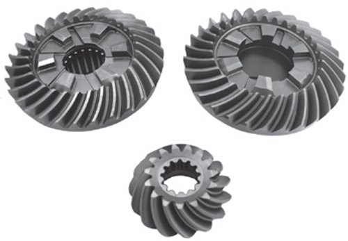 New Red Rhino Yamaha 200-250 HP 6-CYL 4-Stroke Counter Rotation Gear Set [Replaces OEM#s 6P3-45571-00, 6P3-45560-00, 6P2-45551-01]