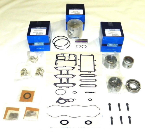 New Mercury/Mariner 75/90/115 HP 3-CYL 1.5L DFI/Optimax Powerhead Rebuild Kit