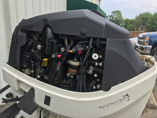 "2007 Evinrude 115 HP ETec V4 2 Stroke DFI 20"" Outboard Motor"