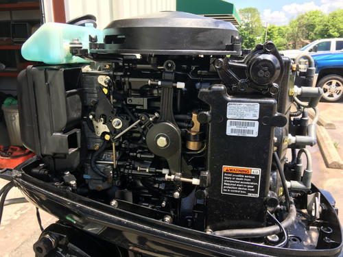 "2010 Mercury 50 HP 3 Cylinder Carbureted 2 Stroke 20"" Outboard Motor"