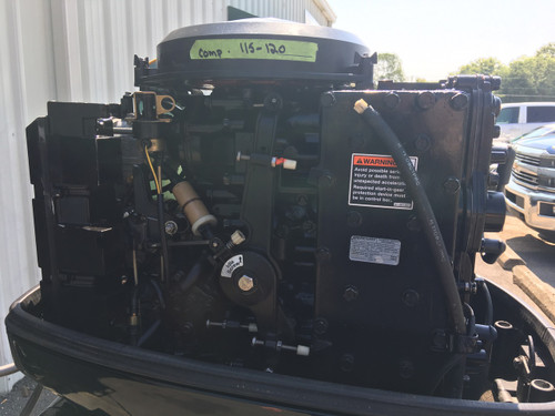 "2003 Mercury 90 HP 3 Cylinder 2 Stroke Carbureted 20"" Outboard Motor"