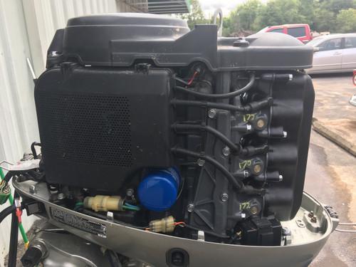 """2002 Honda 40 HP 3 Cylinder Carbureted 4 Stroke 20"""" Outboard Motor"""