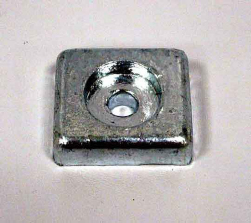 New Tecnoseal Honda Outboard Zinc Anode [Replaces OEM #41106-ZW9-000]