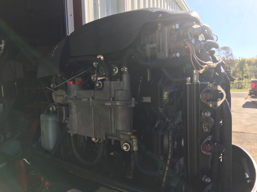 "2010 Mercury Optimax ProXS 200 HP V6 DFI 2 Stroke 20"" Outboard Motor"