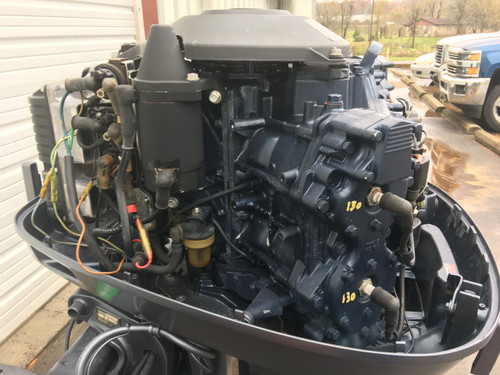 "1991 Yamaha 115 HP V4 Carbureted 2 Stroke 20"" Outboard Motor"