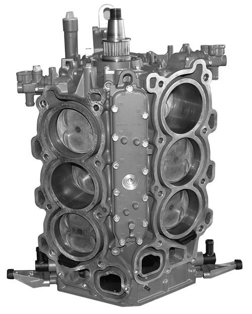 Remanufactured Yamaha V6 4 Stroke 225 HP 2004 & Up Short Block