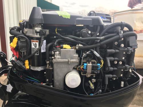 """2010 Mercury 50 HP 4 Cylinder 4 Stroke 20"""" Tiller Outboard Motor"""