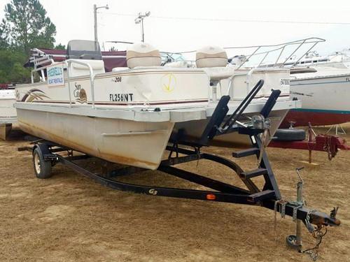 2008 G3 Sun Catcher 20' Aluminum Pontoon Boat w/Trailer