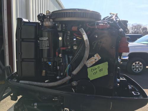 """1990 Evinrude 60 HP 3 Cylinder Carbureted 2 Stroke 20"""" Outboard Motor"""