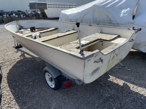 1983 Sea Nymph 14' Aluminum Jon Boat with Trailer