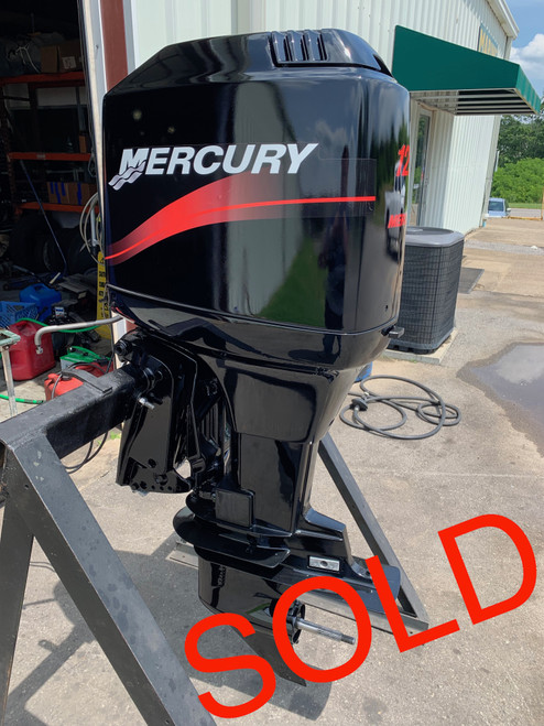 "2001 Mercury 125 HP 4 Cylinder Carbureted 2 Stroke 20"" (L) Outboard Motor"