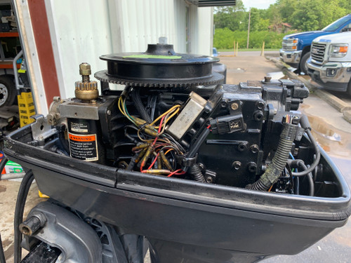 "1997 Mercury/Force 40 HP 2 Cylinder Carbureted 2 Stroke 20"" (L) Outboard Motor"