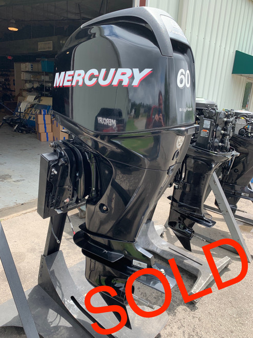 "2011 Mercury 60 HP 4 Cylinder EFI 4 Stroke 20"" (L) Outboard Motor"