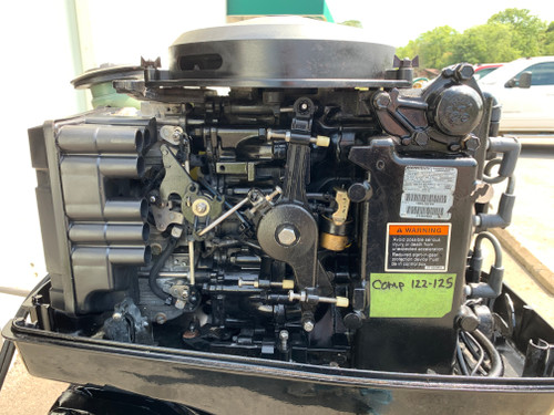 """2001 Mercury 60 HP 3 Cylinder Carbureted 2 Stroke 15"""" (S) Outboard Motor"""