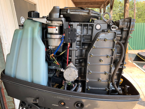 "2001 Suzuki 140 HP 4 Cylinder EFI 2 Stroke 20"" (L) Outboard Motor"