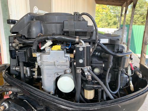 """2010 Mercury 25 HP 3 Cylinder EFI 4 Stroke 20"""" (L) Tiller Outboard Motor"""