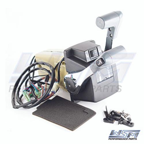 WSM Brand Dual Binnacle Control Box Assembly Suzuki 25 - 250 HP 4-Stroke 2001-2018